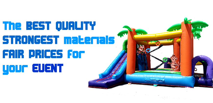 The best quality and strongest materials at the best prices for your private parties and small events
